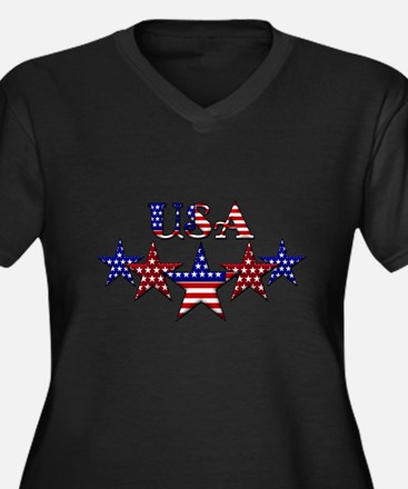 USA Plus Size T-Shirt
