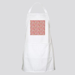 Pressed Garden Flowers Country Chic Light Apron