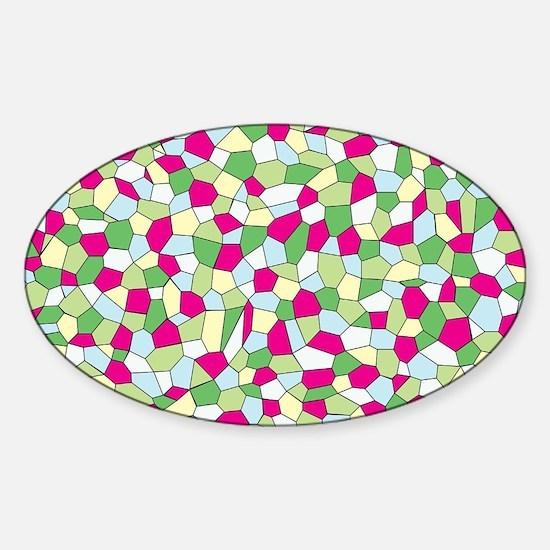 Pastel Mosaic Decal