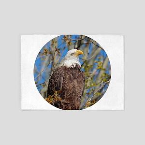 Springtime Eagle 5'x7'Area Rug