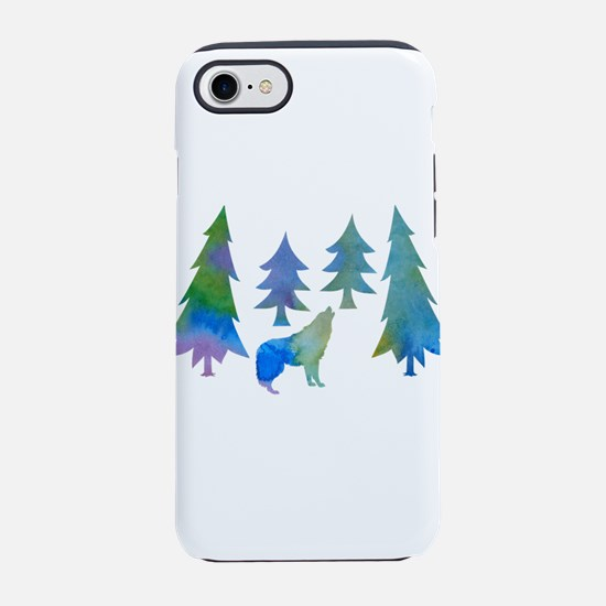 Wolf iPhone 8/7 Tough Case