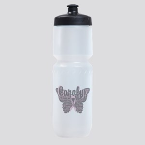 Breast Cancer Courage Personalize Butterfly Sports