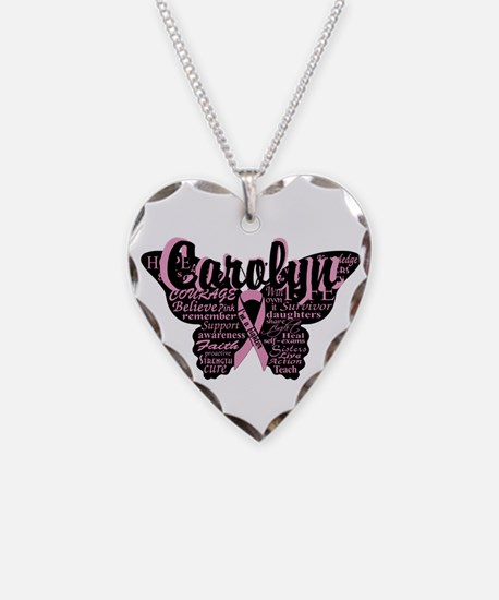 Breast Cancer Courage Necklace