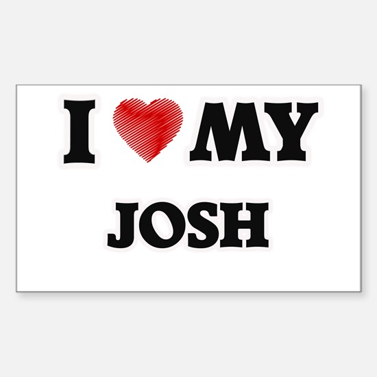 I love my Josh Decal