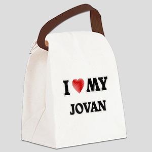 I love my Jovan Canvas Lunch Bag
