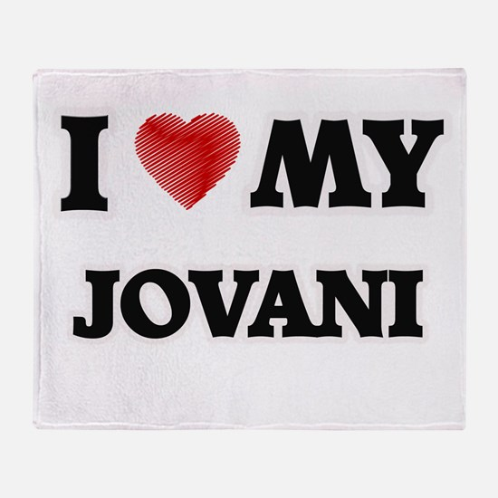 I love my Jovani Throw Blanket