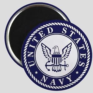 US Navy Emblem Blue White Magnets