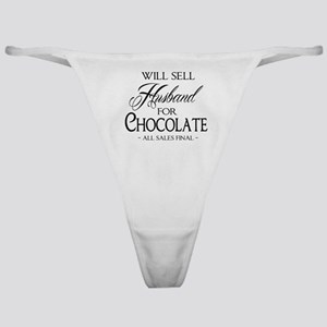 Husband for Chocolate Classic Thong