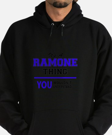 It's RAMONE thing, you wouldn't unde Hoodie (dark)