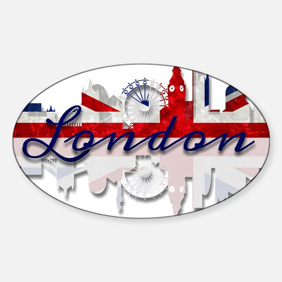 London Skyline Decal