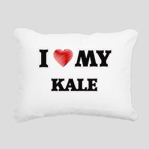I love my Kale Rectangular Canvas Pillow