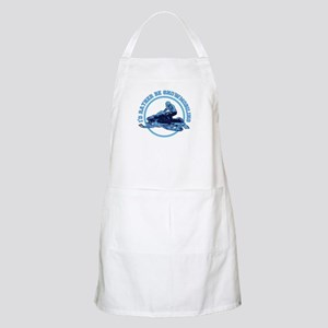 I'd Rather Be Snowmobiling Light Apron