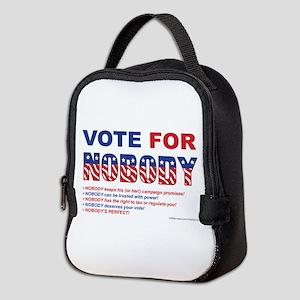 Vote For Nobody! Neoprene Lunch Bag