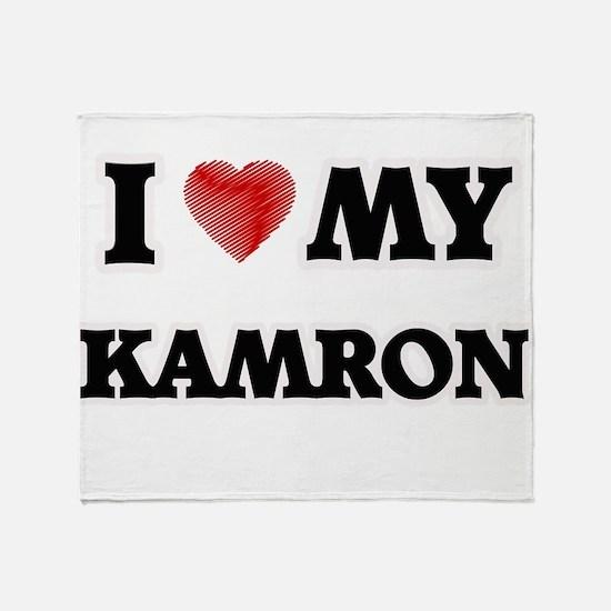 I love my Kamron Throw Blanket