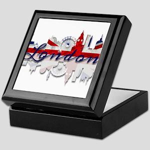 London Skyline Keepsake Box
