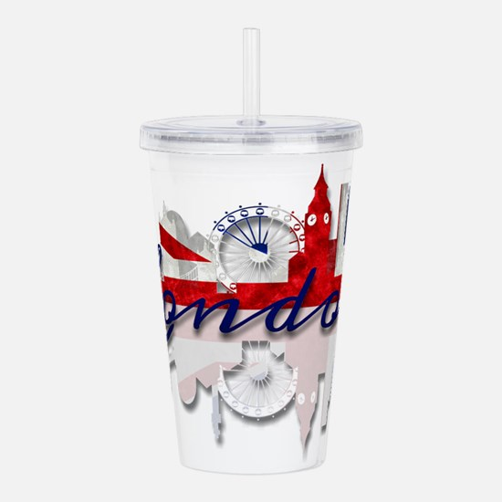 London Skyline Acrylic Double-wall Tumbler