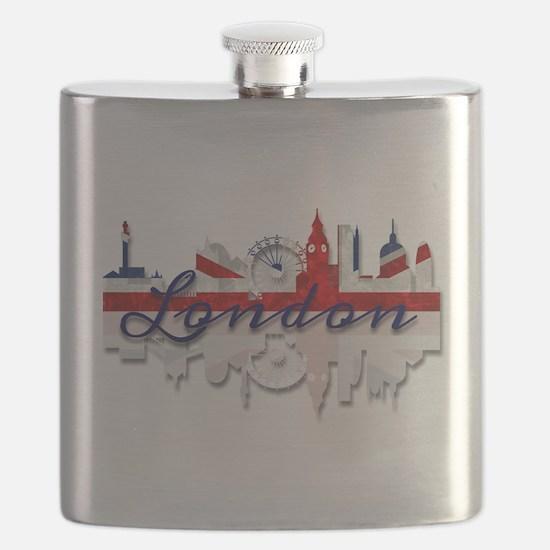 London Skyline Flask