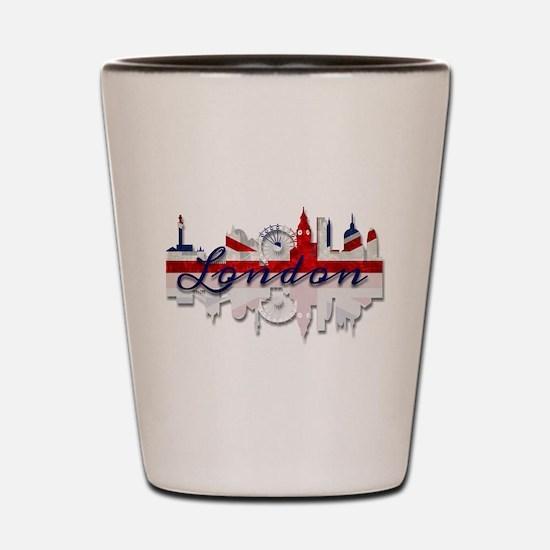 London Skyline Shot Glass