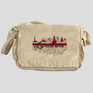 London Skyline Messenger Bag