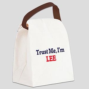 Trust Me, I'm Lee Canvas Lunch Bag