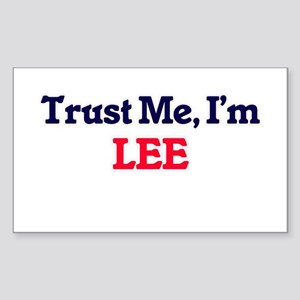 Trust Me, I'm Lee Sticker