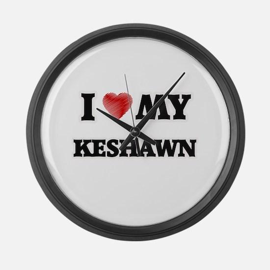 I love my Keshawn Large Wall Clock