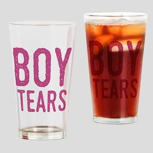 Boy Tears Drinking Glass