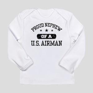 Proud Nephew of a US Airman Long Sleeve T-Shirt