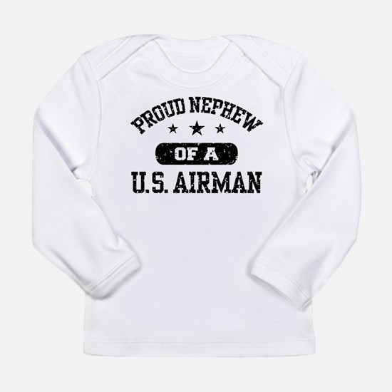 Proud Nephew of a US Airman Long Sleeve T-Shirt