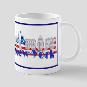 New York Usa Mugs