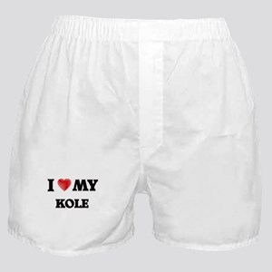 I love my Kole Boxer Shorts
