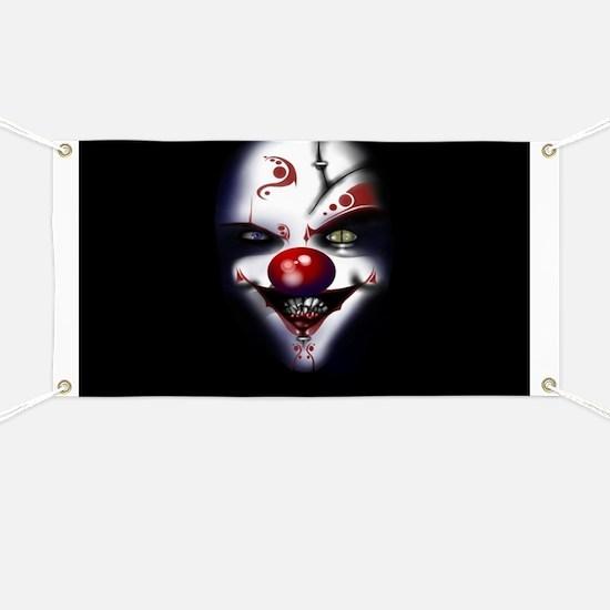 Evil Clown Banner