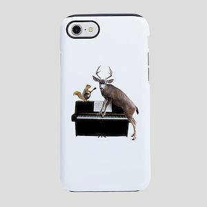 Deer Piano iPhone 8/7 Tough Case