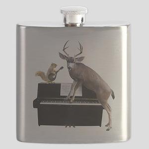Deer Piano Flask