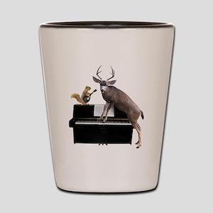 Deer Piano Shot Glass