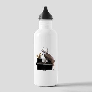 Deer Piano Water Bottle