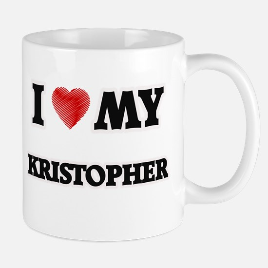 I love my Kristopher Mugs