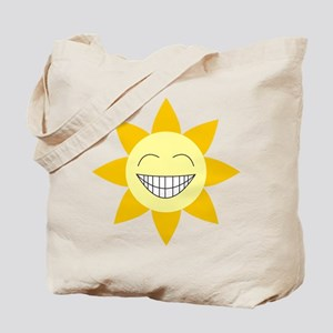 Be Happy SunFlower Tote Bag