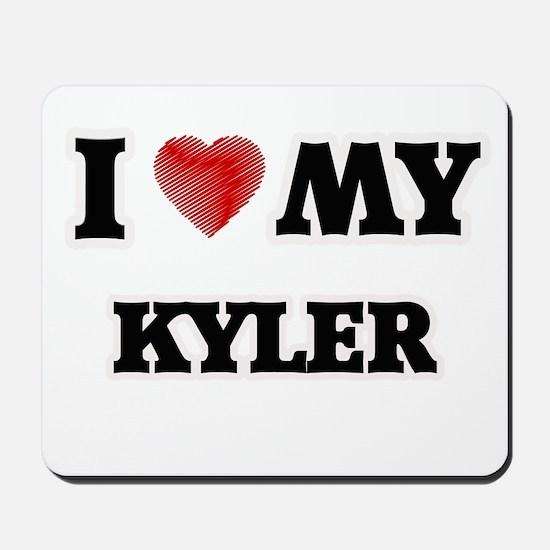 I love my Kyler Mousepad
