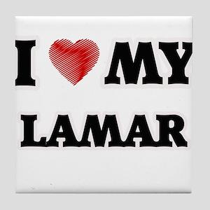 I love my Lamar Tile Coaster