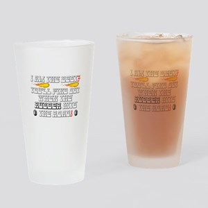 I AM THE BEST? - YOU'LL FIND OUT WH Drinking Glass
