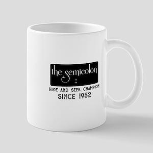 The semicolon Mugs