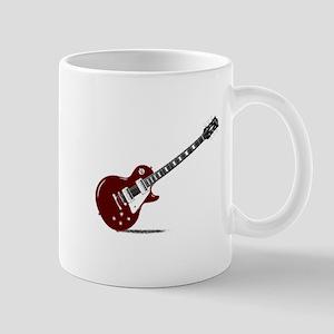 Isolated Rock Guitar Mugs