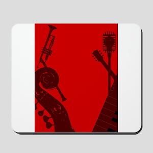 Jazz Club Background Mousepad