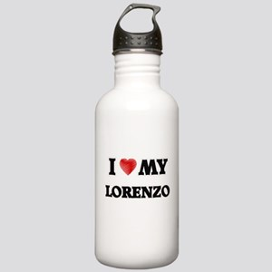 I love my Lorenzo Stainless Water Bottle 1.0L
