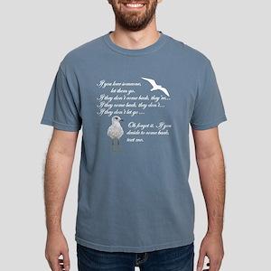 Text Me Mens Comfort Colors Shirt