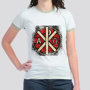 Alpha Omega Stained Glass T-Shirt