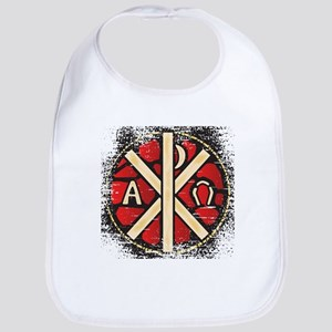 Alpha Omega Stained Glass Bib