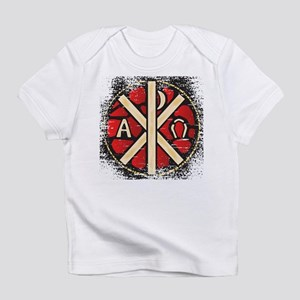 Alpha Omega Stained Glass Infant T-Shirt