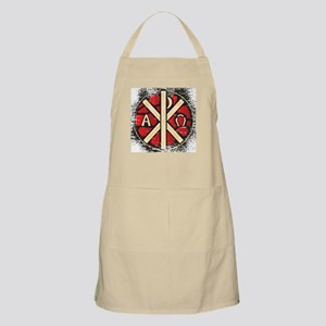 Alpha Omega Stained Glass Apron